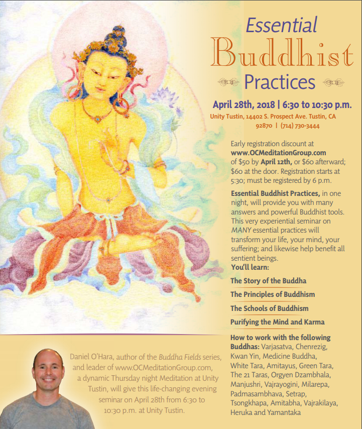 essential buddhist practices, April 28, 2018