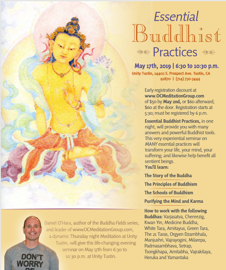 Essential Buddhist Practices, May 17, 2019 from 6:30pm to 10:30pm